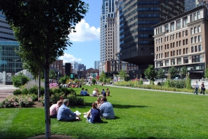 Dewey Square Park, Summer 2011